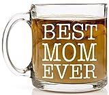 Shop4Ever Best Mom Ever Novelty Glass Coffee Mug Review and Comparison