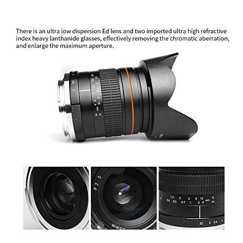 kelda 35mm F2 Full Frame Fixed-focus Lens for Nikon Cameras best ...