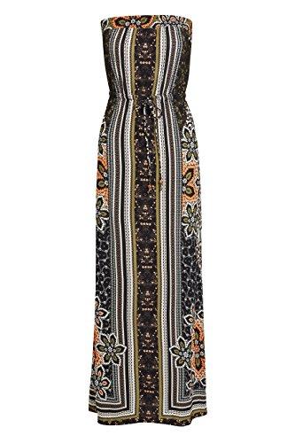 Kleid Maxi Damen Optik Mehrfarbig mit next Rahmen xCOnw4SF