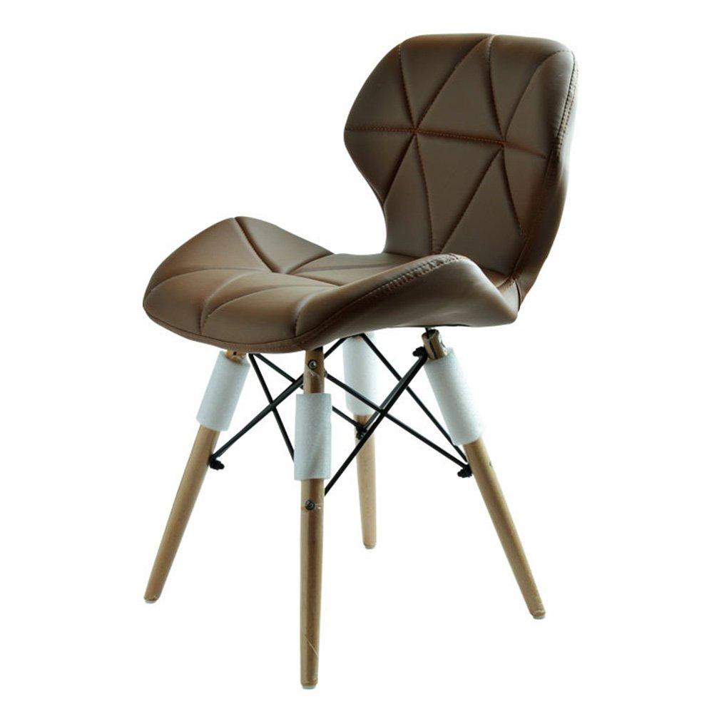 ZEMIN ダイニングチェア椅子の木の木製折り畳み チェアソファシートスツールテーブルの背もたれクリエイティブファッションソリッドウッドの脚の訪問者カラフルな、9色、48x40x72CM ( 色 : C ) B0797MTB2KC