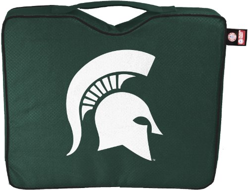 Michigan State Seat Cushion - NCAA Lightweight Stadium Bleacher Seat Cushion with Carrying Strap