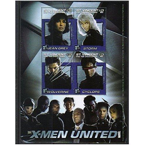 X-Men United X Men Herren Jeanshose blau blau unique