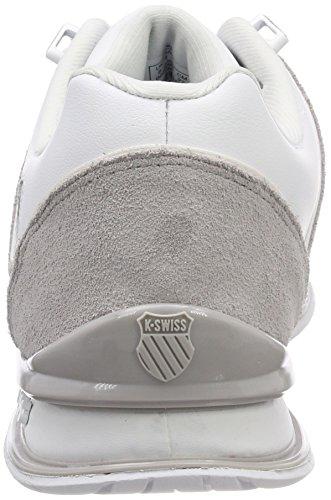 K-Swiss Rinzler SP, Men's Low-Top Sneakers White (White/Gull Gray)