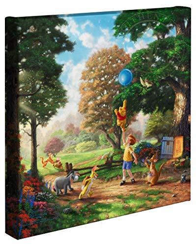 Thomas Kinkade Studios Winnie the Pooh II 14 x 14 Gallery Canvas Wrapped Canvas