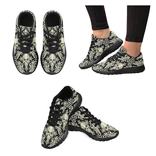 Interestprint Kvinnor Trail Löparskor Jogging Lätta Sport Gå Atletiska Sneakers Multi 4