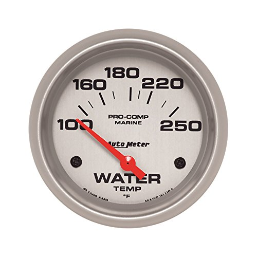 Auto Meter AutoMeter 200763-33 Ultra-Lite Gauge, Water Temp, 2 5/8