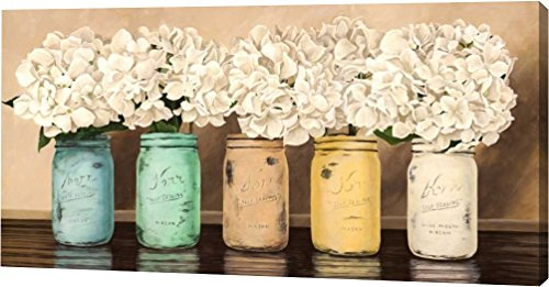 Hydrangeas in Mason Jars by Jenny Thomlinson - 16