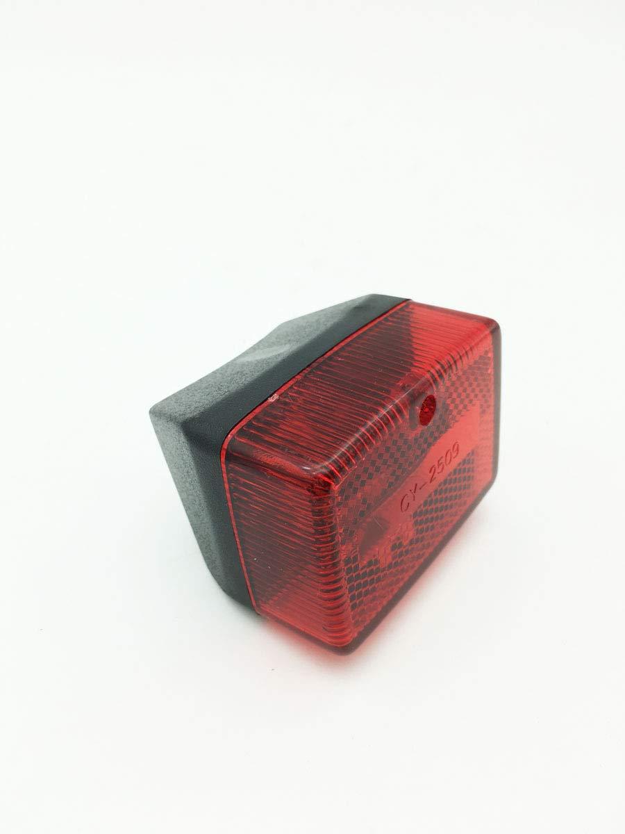 R/ücklicht rot Mofa universal 6,5x4,7x5,5cm