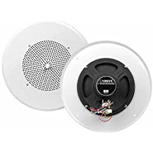 OSD Audio C1090VK 8-Inch 70V Commercial In-Ceiling Speaker with Built-In Volume Control, White
