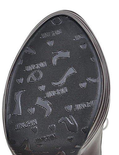 XZZ XZZ XZZ  Damen-Stiefel-Outddor   Lässig   Party & Festivität-Kunstleder-Stöckelabsatz-Plateau   Modische Stiefel-Schwarz   Braun   Weiß   Beige B01KPZT08C Sport- & Outdoorschuhe Charmantes Design fc8d90