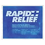 "Rapid Relief Reusable Cold/Hot Gel Pack Compress (9"" x 11"")"