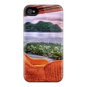 Fashionable Style Cases Covers Skin For Iphone 6- Seating In Paradise Hdr