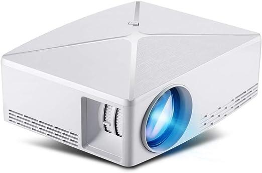 HUIIT Mini Proyector Proyector WiFi De Resolución 1280X720p, LED ...
