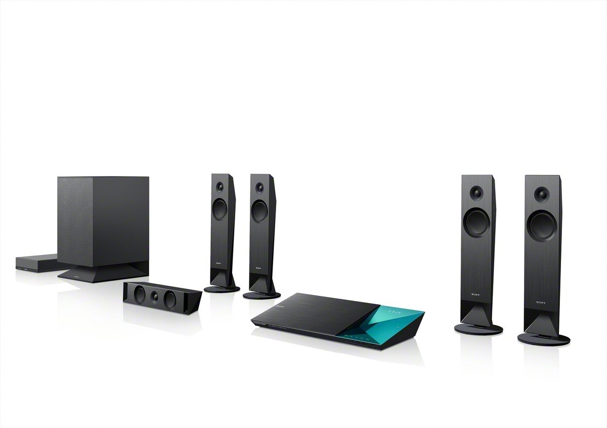 Amazoncom Sony BDVN7100W 51 Channel 3D Bluray Disc Home Theater