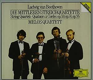 Ludwig van Beethoven: The Middle Quartets - Melos Quartett