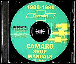 89 camaro schematic 1988 1990 chevrolet camaro repair shop manual cd gm chevrolet  1988 1990 chevrolet camaro repair shop