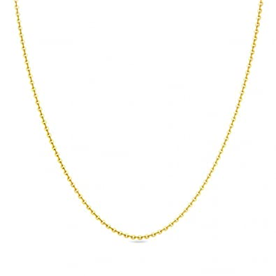 990e79904ac Buy Candere By Kalyan Jewellers 22k (916) Yellow Gold Chain for Women Online  at Low Prices in India