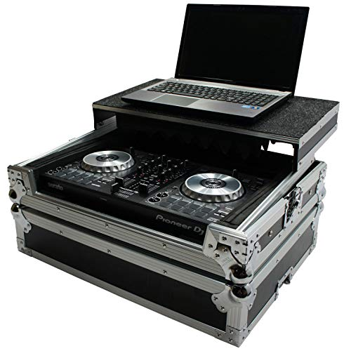 Harmony HCMINILT Flight Glide Laptop Stand Road DJ Case fits Pioneer DDJ-SB3