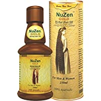 Nuzen Gold Herbal Hair Oil, 250ml