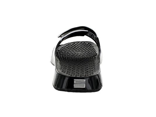 242191696667 ... buy online 894a2 f69ff Amazon.com Nike Jordan Alpha FLoat Premier Men  Flipflops BlackConcordWhite 414786 ...
