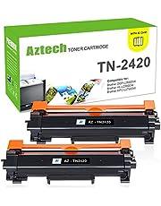 Aztech Compatible pour Brother TN-2420 TN2420 TN 2410 pour Brother MFC-L2710DW MFC-L2710DN HL-L2375DW MFC-L2730DW DCP-L2530DW DCP-L2510D DCP-L2550DN HL-L2310D HL-L2350DW HL-L2370DN MFC-L2750DW Toner