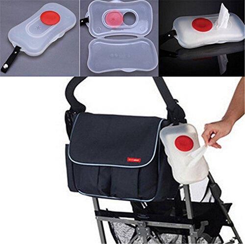 Ch Portable Wet Tissue Box Wipes Dispenser Case Outdoor