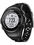 Epson E11E222012 ProSense 57 GPS Running Watch with Heart Rate from the Wrist – Black