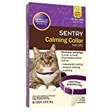 Sentry Calming Collar for Cats- 6 Collars Total Economy-Pkg