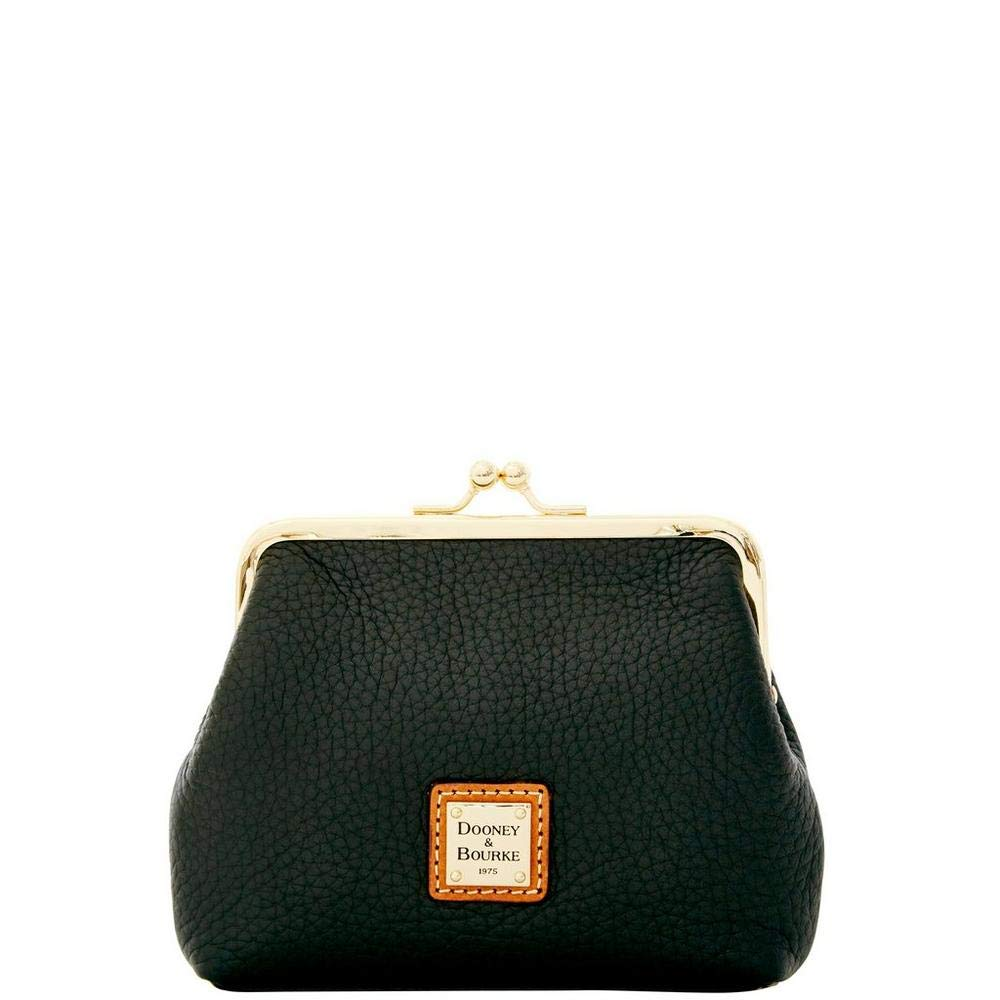 Dooney & Bourke Pebble Grain Large Framed Purse Black
