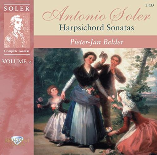Harpsichord Complete Sonatas (Soler Padre Antonio (1729-1783)- 'Complete Harpsichord Sonatas Vol.2': Sonatas R.69-79 An)