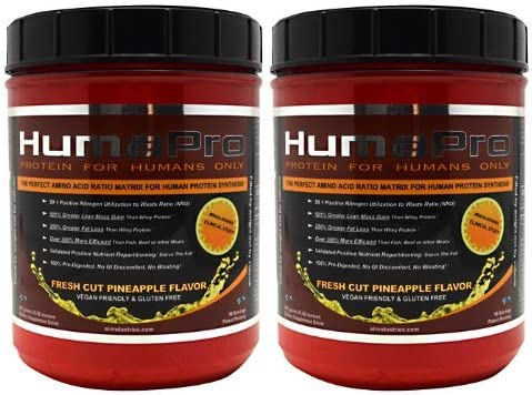 2 x ALRI HumaPro Pineapple 90sv 2 tubs 180 Total Serving