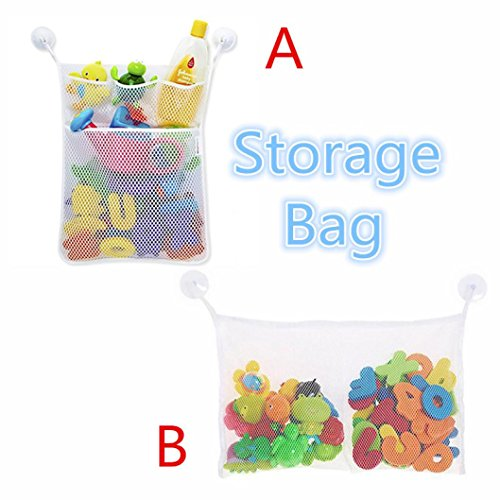 LtrottedJ Fashion New Baby Toy Mesh Storage Bag, Bath Bathtub Doll Organize