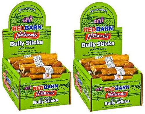 Red Barn 5 inch Bully Sticks 100 ct (2x50 ct case)
