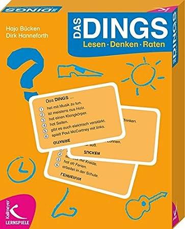 Das DINGS: Lesen - Denken - Raten: Amazon.de: Spielzeug