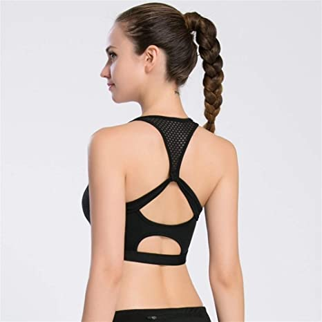 GZSC Sujetador Deportivo Nuevo Sexy Push Up Backless Hollow out ...
