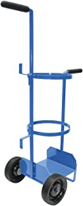 Uniweld 517 Metal Carrying Stand for a 60 Cubic Feet Nitrogen Tank
