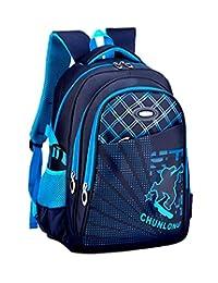 Fanci Cool Skateboard Waterproof Elementary Boys School Backpack Primary School Student Book Bag Rucksack