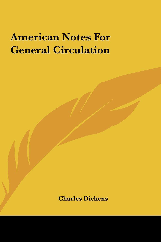 Download American Notes For General Circulation ebook