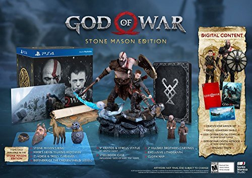 (God of War 4 Collector's Edition - PlayStation 4)