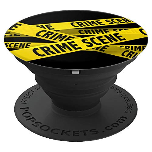 Crime scene tape - PopSockets Grip and Stand for Phones and Tablets