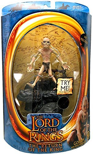 The Lord of the Rings - Gollum with sound Base Action Figure by Vivid Imaginations