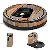 MightySkins Skin for iRobot Roomba 960 Robot Vacuum - Barn Wood | Protective, Durable, and Unique Vinyl Decal wrap Cover | Easy to Apply, Remove, and Change Styles | Made in The USA