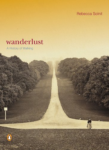 Wanderlust: A History of Walking cover