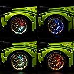 FADF-LED-Kit-di-Illuminazione-per-Lego-Lamborghini-Sin-FKP-37-Multieffetto-Telecomando-LED-Luci-Illuminazione-Compatibile-Lego-42115-Non-Include-Il-Set-Lego