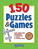 150 Puzzles and Games, Ages 9-11, Teacher Created Resources Staff, 1420631829