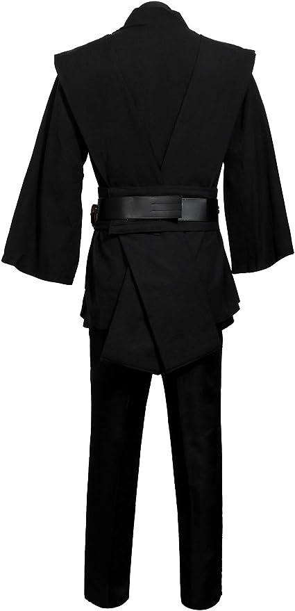 Laku Mens Tunic Hooded Robe Cloak Knight Costume Halloween Cosplay Costume