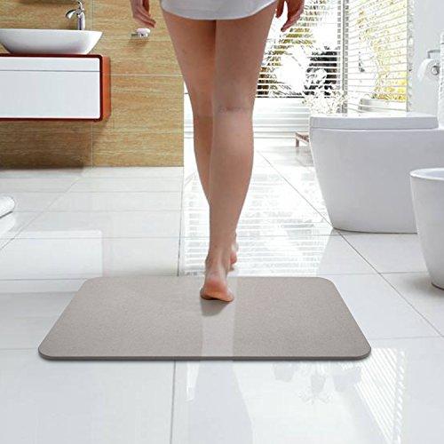 Bazal Bath Shower Mat, Diatomaceous Earth Bath Mat,Non Slip