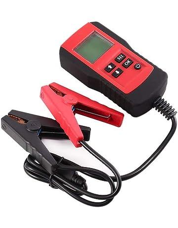 KZYEE KS21 Automatischer Auto Batterietester Batterie Ankurbelungs Spannung und Lade System Diagnostic 12V CCA Testger/ät Digital Analyzer Batteriezustand Test-Tool f/ür Fahrzeugbatterie Gesundheit