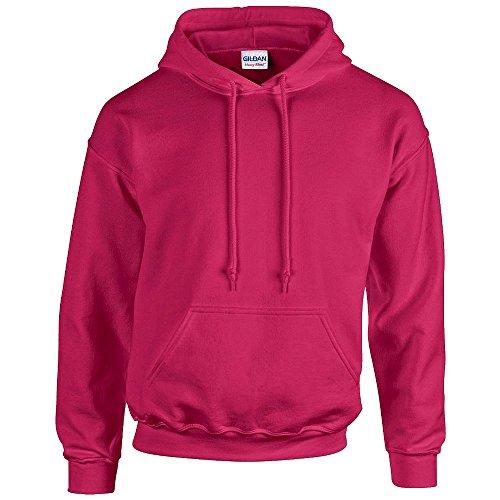 Gildan G185 Heavy Blend Adult Hooded Sweatshirt - Black - 4XL ()