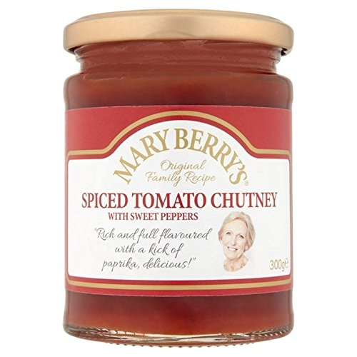 Mary Berry's Spiced Tomato Chutney 300g - Pack of 6